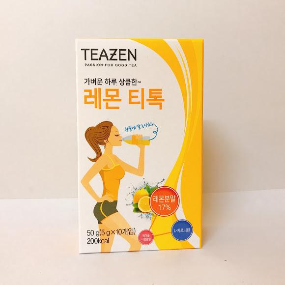 Bột trà chanh giảm cân Teazen 50g (5g x 10 gói)