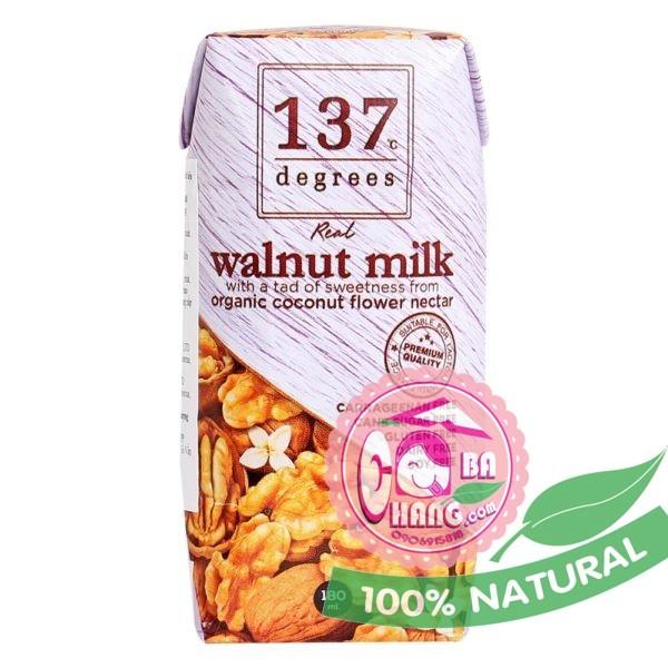 Sữa óc chó nguyên chất 180ml 137 Thái Lan