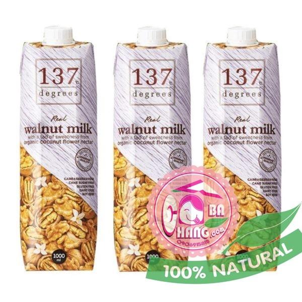 Sữa óc chó nguyên chất 1 lít 137 Thái Lan