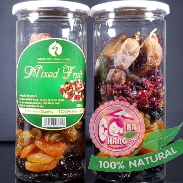 Mix 7 trái cây sấy
