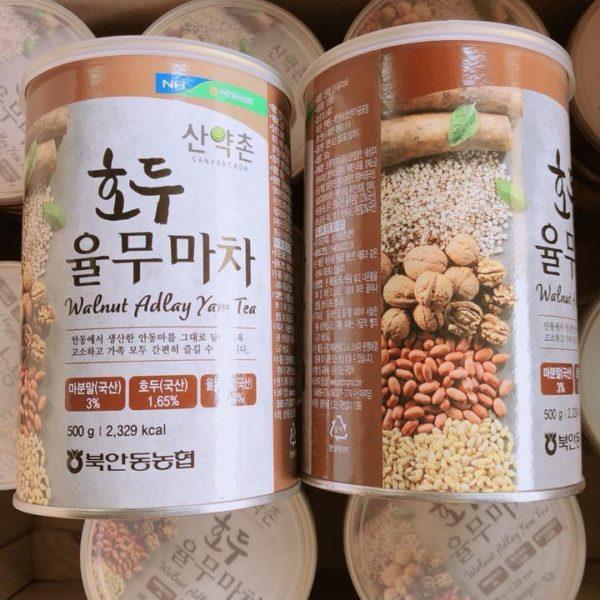 Bột ngũ cốc Hàn Quốc Walnut Adlay 500g