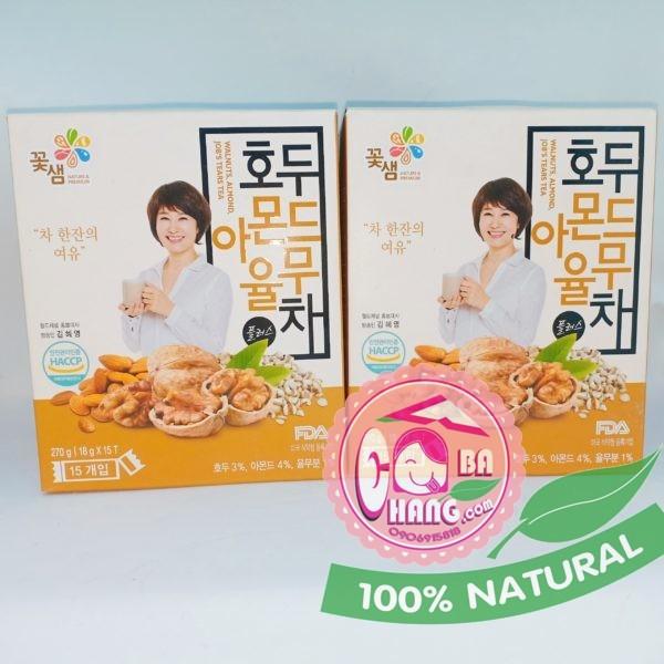 Ngũ cốc Nature & Premium 15 gói x 18g - Hàn Quốc