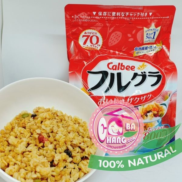 Ngũ cốc Nhật Calbee 800g